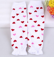 Wholesale New Baby Christmas Legging Warmer Fashion children Heart Leg Warmer Socks pairt LW03
