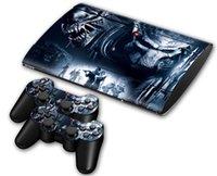 aliens vs predator - Alien VS Predator DECAL SKIN PROTECTIVE STICKER for SONY PS3 SLIM CONSOLE CONTROLLER