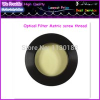 Wholesale Free Ship Datyson Full Metal Optical Filter inch Yellow Metric Screw Thread Special Watch Nebula Filter Telescope Filter
