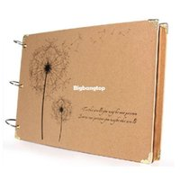 Wholesale 1509 Handmade paste type diy photo album big album baby lovers photo album pages