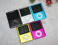 Wholesale Newest th LCD MP4 Player New Slim Mini quot With FM Radio Video With Micro SD Card TF Card Slot Speaker sets