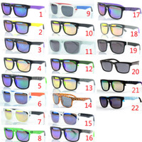 Cheap New sunglasses KEN BLOCK HELM brand Cycling Sports Outdoor men women optic sunglasses Sun glasses 22 colors