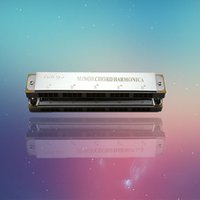 Wholesale Old brand hole double sequence scale harmonica harmonica factory direct level
