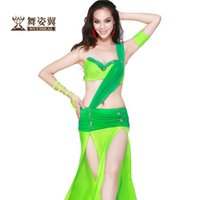 indian clothes - 2015 new belly dance costume piece top skirt arm set arm rope belly dancing clothes color indian clothes india