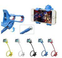 arm tablets - 360 Rotating Flexible Long Arm cell phone holder stand lazy bed desktop tablet car selfie mount bracket for iphone for samsung