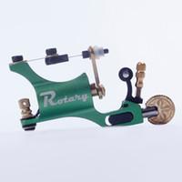 tattoo machine - Green color Rotary Motor Tattoo Machine Gun Liner Shader Style