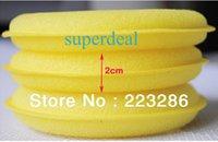 Wholesale 72PCS Polish Wax Sponge Waxing Foam Applicator Pads For Clean Car Vehicle Glass F