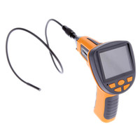 Wholesale 4 LEDs LCD quot TFT Digital Inspection Borescope Vision Endoscope Snake mm Scope Camera IP67 Waterproof
