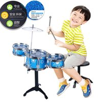Wholesale Children s toy drums baby Jazz Drum Percussion Music simulation puzzle educational toy drum practice