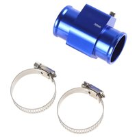Wholesale 4pcs Water Temperature Temp Sensor Guage Adapter mm Aluminium with Clamps CEC_517