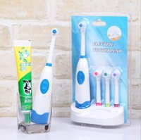 Wholesale high quality Battery Operated Electric Toothbrush with Brush Heads Oral Hygiene Health Products family health care items gifts