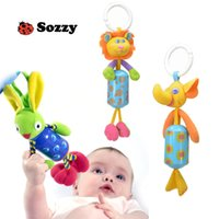 Wholesale 2016 New Infant Toys Mobile Baby Plush Sozzy Bed Wind Chimes Rattles Bell Toy Stroller for Newborn Best Gift For Kids