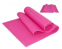 yoga mat - Different colors PVC yoga mats with yoga mat bag mm thick yoga mat as a gift