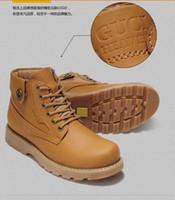 Wholesale 2014New leisure men s boots leather short boots British wind ventilation tooling shoe tide restoring ancient ways men s shoes