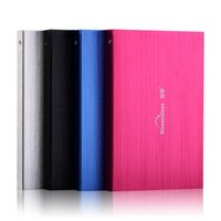 Wholesale 100 quot NEW portable external hard drive GB USB2 HDD for laptops desktops