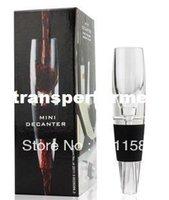 wine glass box - Hot Sell Mini Wine Aerator Magic Decanter Red Wine Decanter Aerating Glass Bottle Gift Box DHL