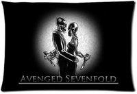 avenged sevenfold band - Rock Band Avenged Sevenfold Fashion Style Cotton Linen Decorative Suitbale Single Pillow Case Standard Size x75cm Twin Sides