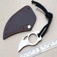 Wholesale Hot sale Outdoor Camping Hiking Mountain Climbing Riding Survival Self defense Mini Claw Karambit Knife Karambit