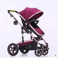 bicycle baby carriers - Kinderwagen stroller Folding Mother Baby Stroller Bike Carrier Bicycle Carrinho Aluminium Alloy baby car baby stroller in1