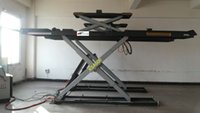 carbon steel alignment lift - hydraulic scissor type used wheel alignment lift kgs