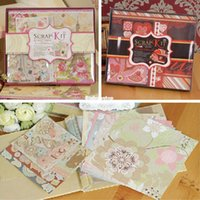 Wholesale 1509 Sweet Wedding New Baby Scrapbook Album DIY Scrapbook Kit Gift Set Make Baby Wedding Album Kit