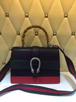 bamboo piece - Women Bamboo handbag new Runway Luxury brand Calfskin messenger bag Price US piece