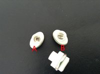 Cheap Dual Wax Ceramic coil Best Dual Cotton Wick Coil