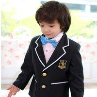 academics pictures - Han edition children suit children academic dress the boy flower girl dress costumes performing uniform clothing