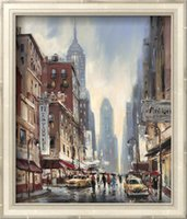 avenue art - New York contemporary art Landscape Brent Heighton Painting oil on canvas Eighth Avenue High quality Hand painted
