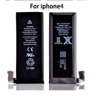 iphone4s cell phone - High Quality Original Battery For Mobile Cell Phone For iPhone G iphone4S iphone5 iphone5S iphone6 plus Batteries