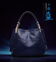Cheap Hot sale High quality Alligator female bag handbags shoulder bag European new designer Handbags famous brands luxury bag women totes bags