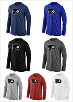 big flyer - Men s Philadelphia Flyers t shirts Long sleeve Big Tall Logo Fashion Flyers Hockey TShirt Long Sleeve O Neck Cotton Colors