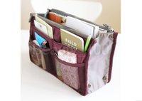 Wholesale Lady s organizer bag multi functional cosmetic storage handbag women bags women bag in bag