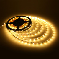 Wholesale 12V Flexible LED Strip Light LED Tape Warm White ft m Non Waterproof LED Strips M Leds Flexible Led Strips Light Christmas Light