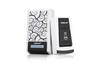 Wholesale Waterproof Smart LED Digital Single Receiver Tunes Wireless M Range Remote Control Home Gate Security Door Bell Doorbell
