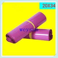 Wholesale DHL Freeshipping cmx34cm PURPLISH RED Poly Mailers Plastic Envelopes Shipping Bags x