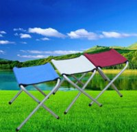 Wholesale Lowest Promotion Price Portable Folding Chair Aluminum Camping Fishing BBQ Outdoor Home Dinner Fold Tablet Chair