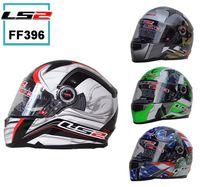 full face helmet - Casco Capacetes LS2 FF396 HELMET DUALLens Llazed Steel Fiber Motorcycle Helmet Off Road Safety Courses Helmets