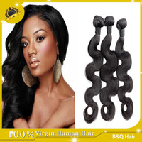 discount remy hair - Brazilian Top Quality Remy Hair Weave Body Wave High Fidelity Discount Hair Extensions A Grade Unprocessed Virgin Remy human hair