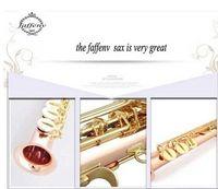 Wholesale EMS Hongkong brand FAFFEN V sax Phosphor bronze Soprano Sax