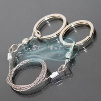 Wholesale Survive camping users of portable survival wire saw rope chain saws