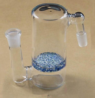Wholesale Bubbly diffusion Percolators Ashcatcher Downstem for Glass Bong Glass Water Pipe mm joint size