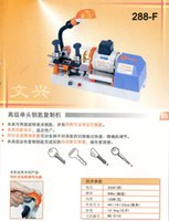 Wholesale Original Wenxing key cutting machine F key dumplicate machine for external milling key copy machine