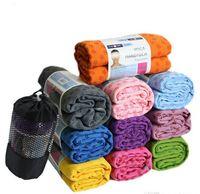 yoga mat - 2015 New arrival Micro Fiber Non slip Yoga Mat Towel Soft Skidproof Yoga Towel Non slip Yoga Mat Pilates DDD2087