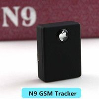 Adjustable spy gsm - 2016 Brand New RealTime listening device Mini spy box GSM voice activated auto dialer Spy N9 GSM Tracker SMALL APPLE