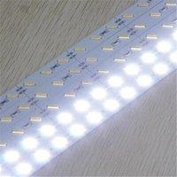 aluminum - Super Bright Hard Rigid Bar light DC12V cm led SMD Aluminum Alloy Led Strip light For Cabinet Jewelry Display Free DHL