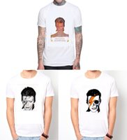 aladdin coolers - David Bowie Aladdin Sane retro ziggy Cotton O Neck Short Sleeve Cool Camiseta Men Camisetas T Shirt Unisex