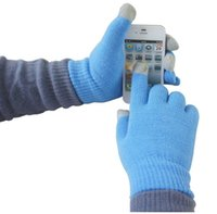 Wholesale IGlove Screen Touch Glove Capacitive Gloves without logo Unisex Winter for Iphone S Plus S Smart Phone Touch ipad