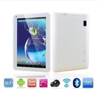 Wholesale 10 quot inch A33 Quad core GHz Tablet pc GB GB Android pixels Kitkat WIFI Dual Camera Bluetooth OTG Tablets