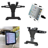 car holder for 7 inch tablet - Universal Car Back Seat Headrest Mount Holder Stand Bracket Kit Inch For iPad Mini For Galaxy Tab Tablet with box